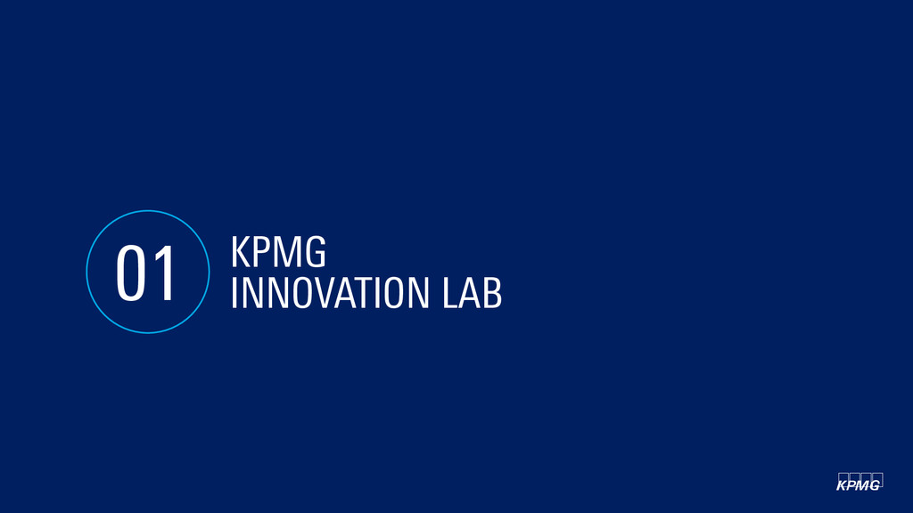 KPMG INNOVATION LAB 01 kpmg