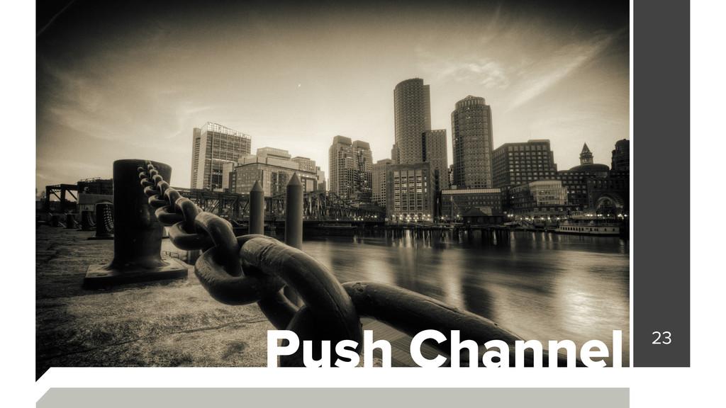 23 Push Channel