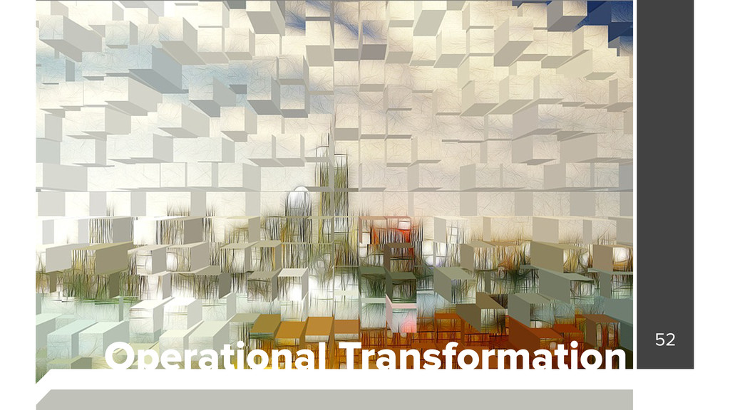52 Operational Transformation