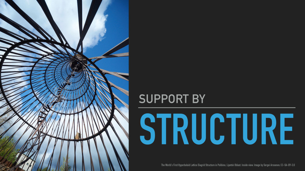 STRUCTURE SUPPORT BY The World's First Hyperbol...