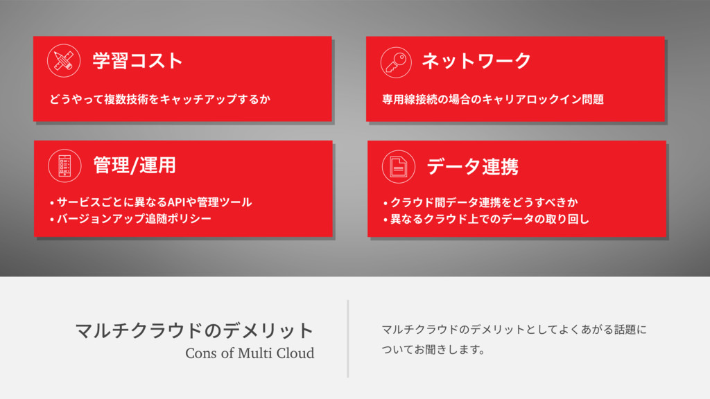 وٕثؙٓؐسךرًٔحز Cons of Multi Cloud وٕثؙٓؐسךرًٔح...
