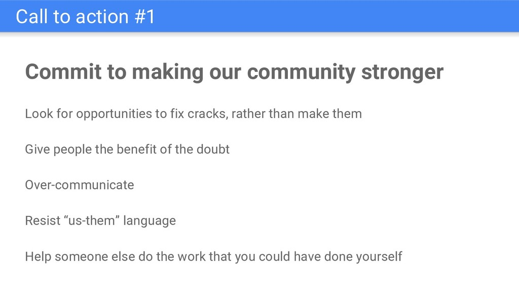 Commit to making our community stronger Look fo...
