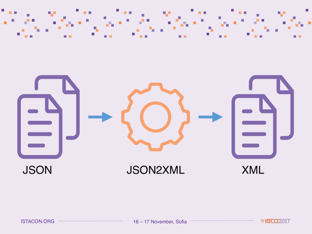 16 – 17 November, Sofia ISTACON.ORG JSON XML JS...