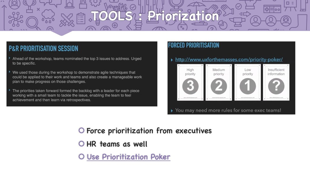 TOOLS : Priorization š Force prioritization fro...