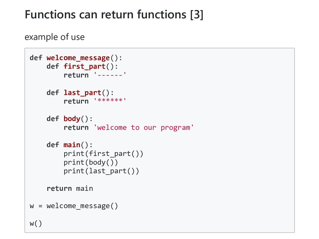 Functions can return functions [3] example of u...