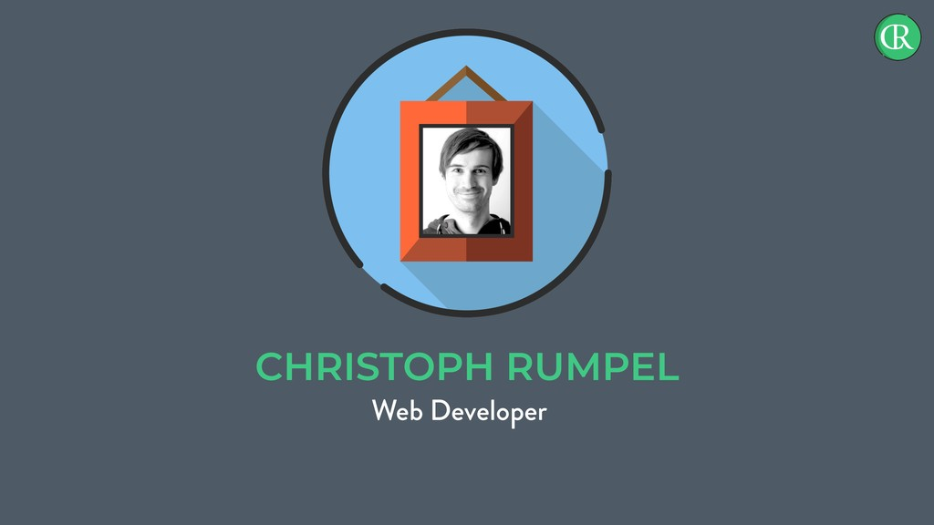 CHRISTOPH RUMPEL Web Developer