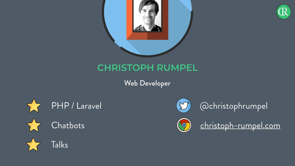 CHRISTOPH RUMPEL Web Developer PHP / Laravel Ch...