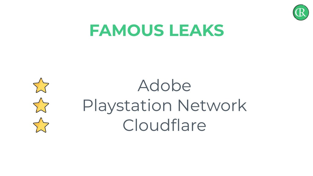 Adobe Playstation Network Cloudflare FAMOUS LEAKS