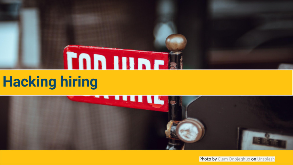 Hacking hiring Photo by Clem Onojeghuo on Unspl...