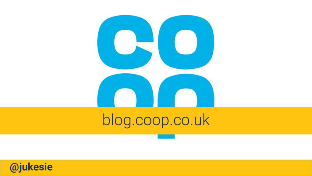 @jukesie blog.coop.co.uk