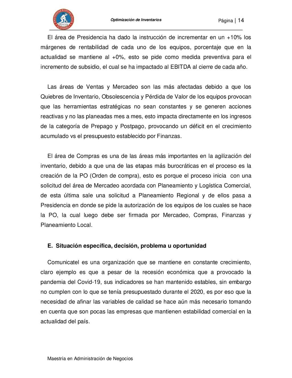 Página   14 Maestría en Administración de Negoc...