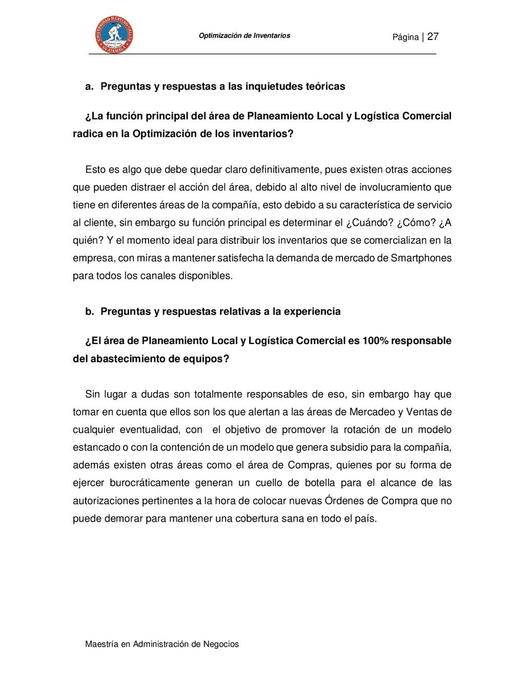 Página   27 Maestría en Administración de Negoc...