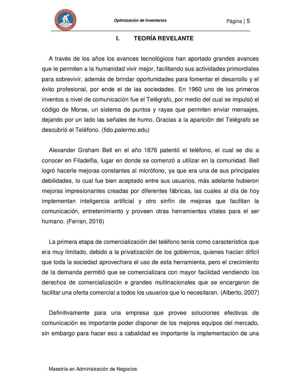Página   5 Maestría en Administración de Negoci...