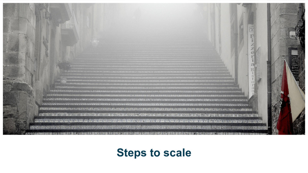 Steps to scale