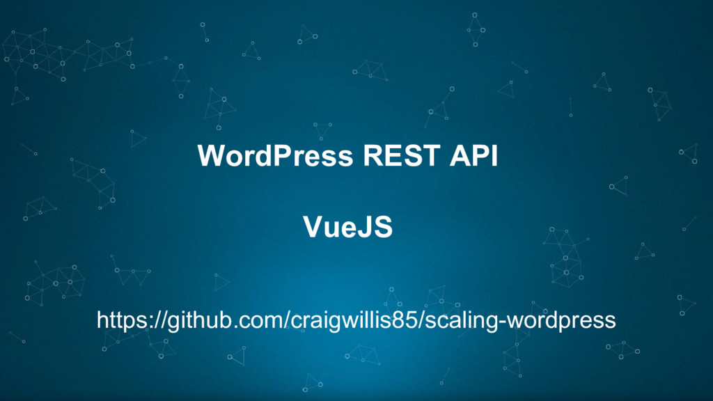 WordPress REST API VueJS https://github.com/cra...