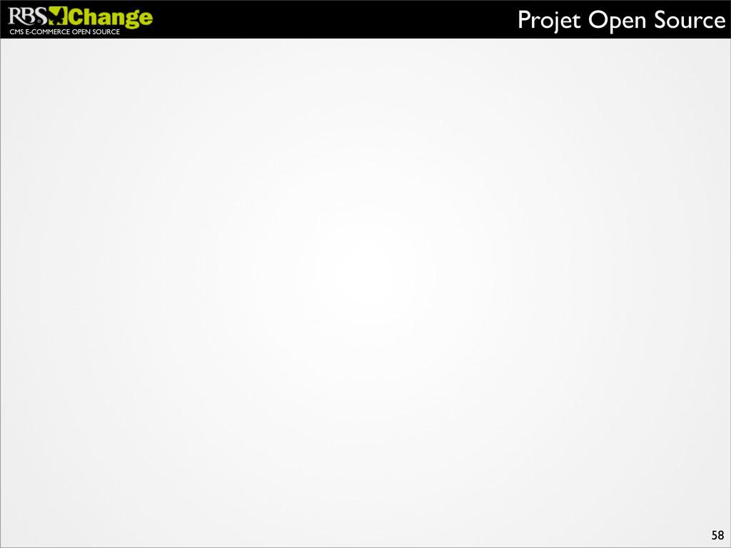CMS E-COMMERCE OPEN SOURCE Projet Open Source 58