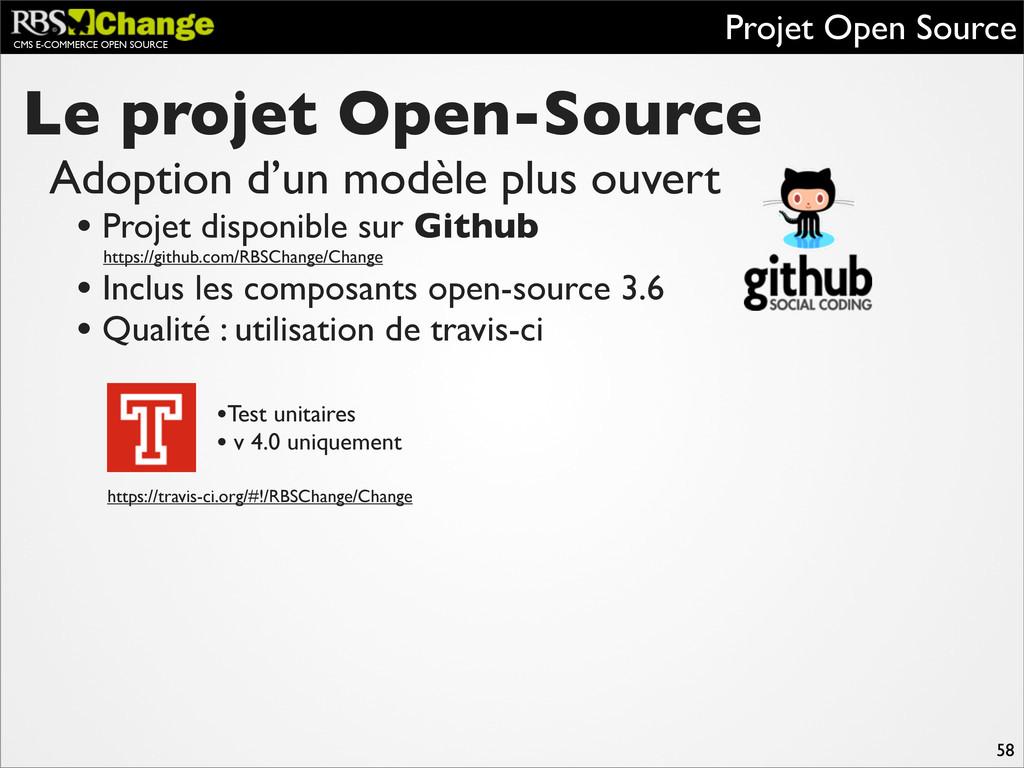 CMS E-COMMERCE OPEN SOURCE Le projet Open-Sourc...