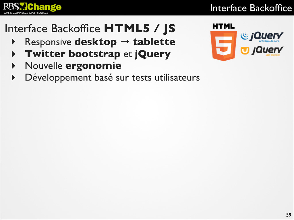CMS E-COMMERCE OPEN SOURCE Interface Backoffice ...