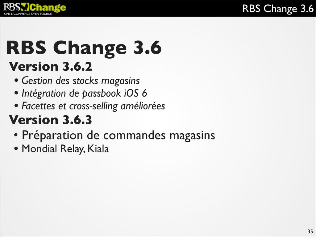 CMS E-COMMERCE OPEN SOURCE RBS Change 3.6 35 RB...