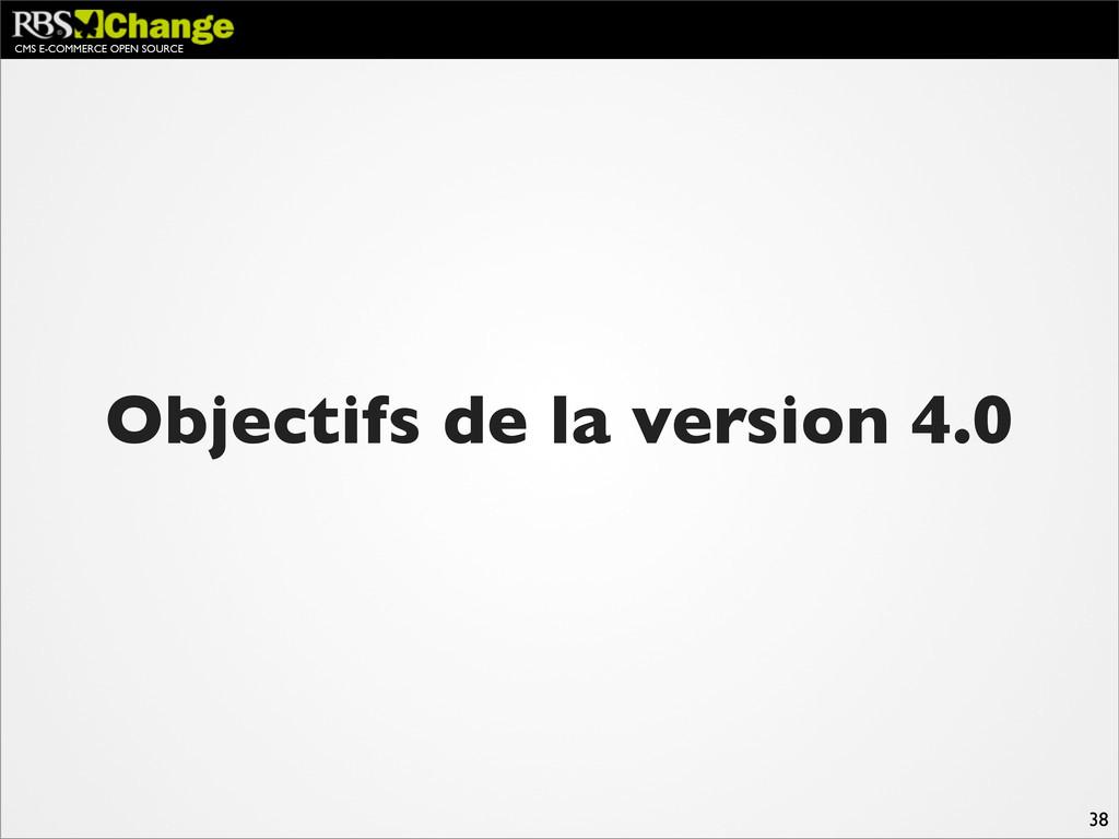 CMS E-COMMERCE OPEN SOURCE 38 Objectifs de la v...