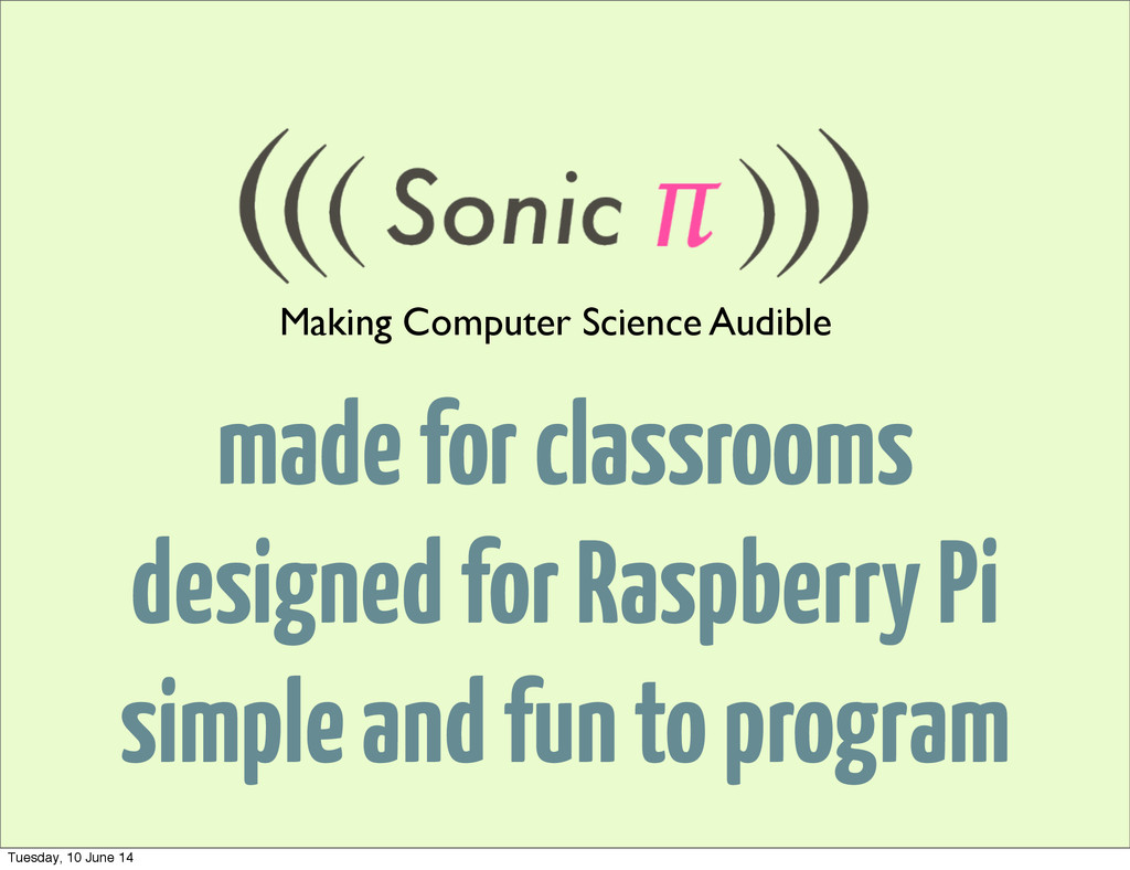 made for classrooms designed for Raspberry Pi s...