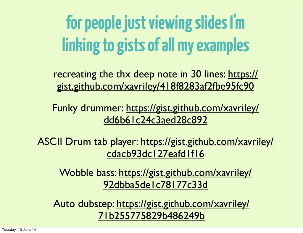for people just viewing slides I'm linking to g...