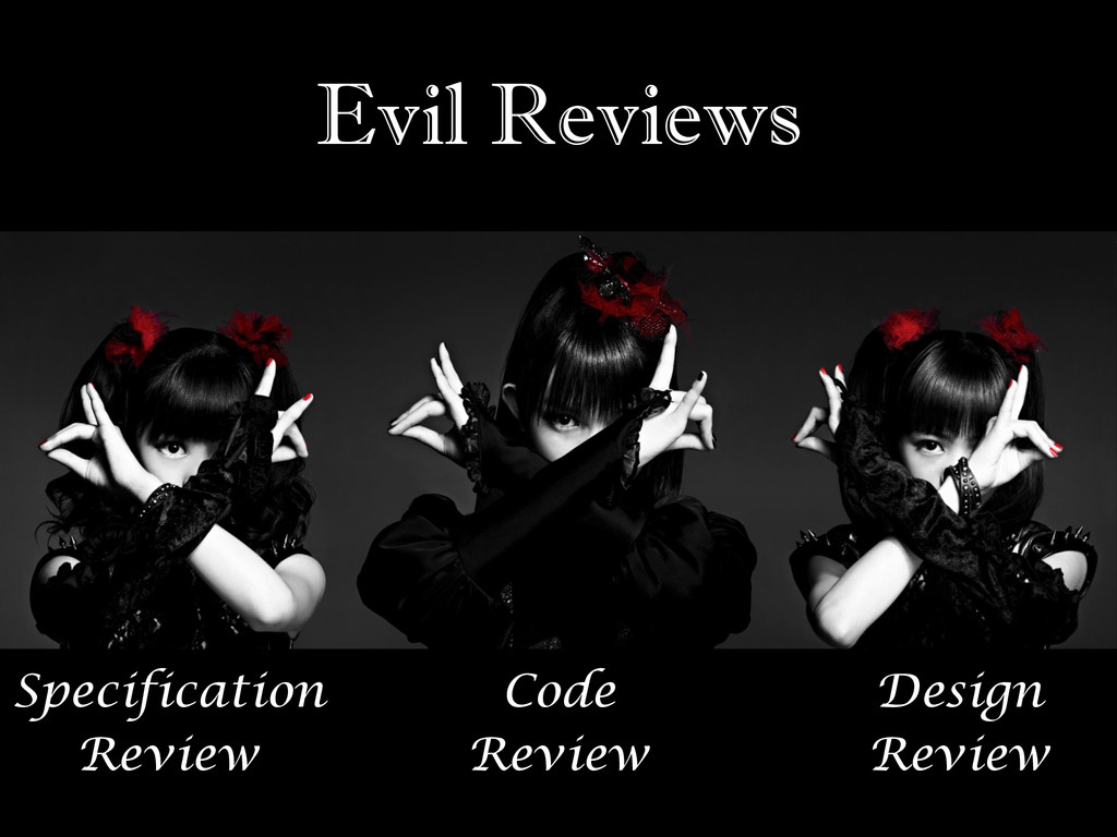 Evil Reviews Code Review Specification Review D...