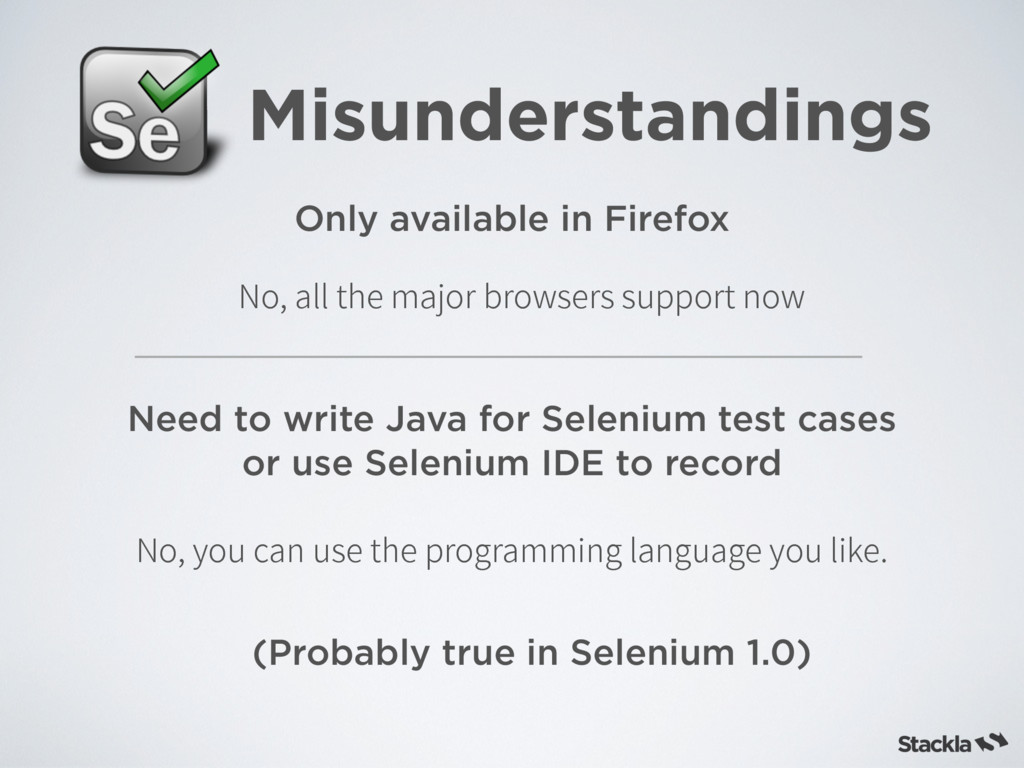 Misunderstandings Only available in Firefox Nee...