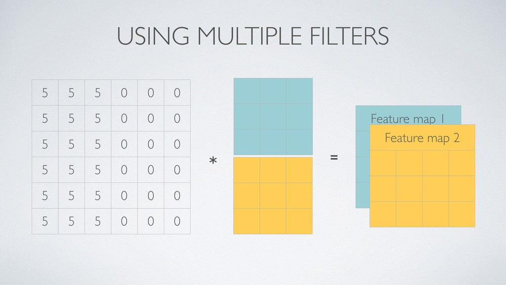 USING MULTIPLE FILTERS 5 5 5 0 0 0 5 5 5 0 0 0 ...