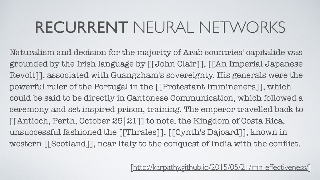 RECURRENT NEURAL NETWORKS Naturalism and decisi...