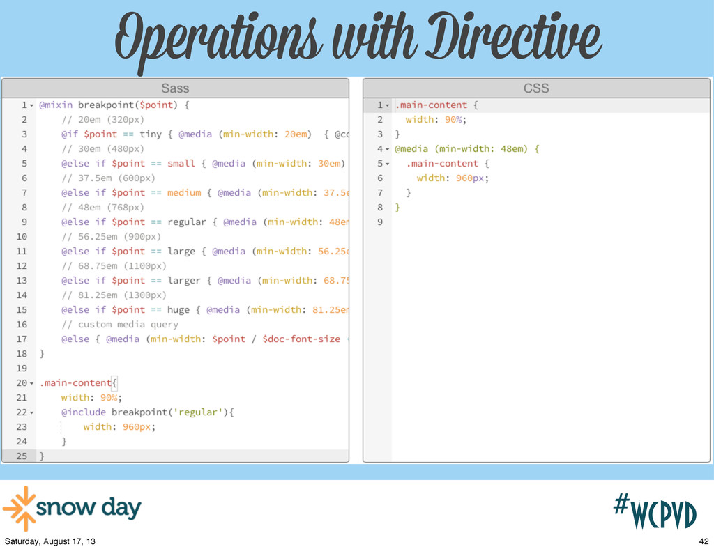 #wcpvd Operations with Directive 42 Saturday, A...