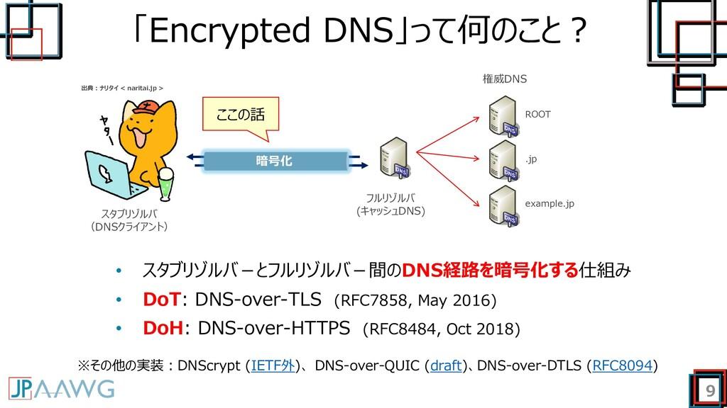 「Encrypted DNS」って何のこと? 9 スタブリゾルバ (DNSクライアント) フル...