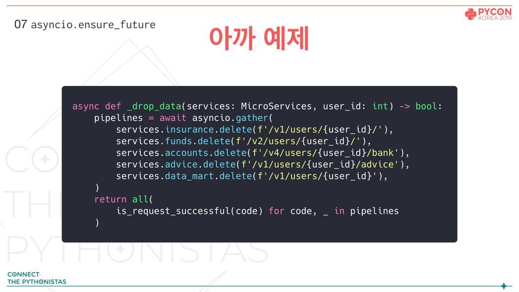 ইө ઁ 07 asyncio.ensure_future
