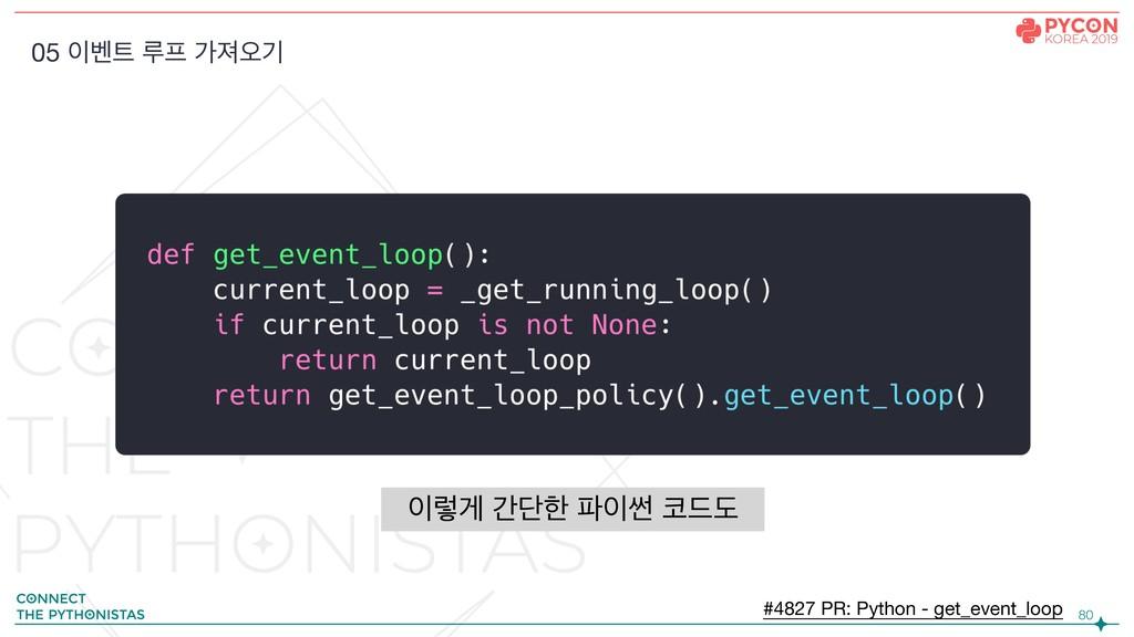 !80 05 ߮ ܖ оઉয়ӝ #4827 PR: Python - get_event...
