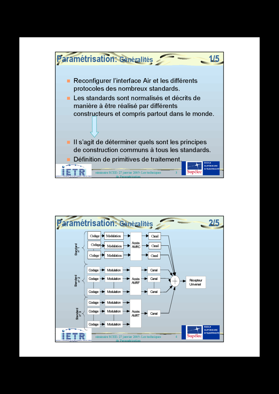 3 séminaire SCEE- 27 janvier 2005- Les techniqu...