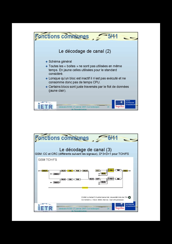 23 séminaire SCEE- 27 janvier 2005- Les techniq...