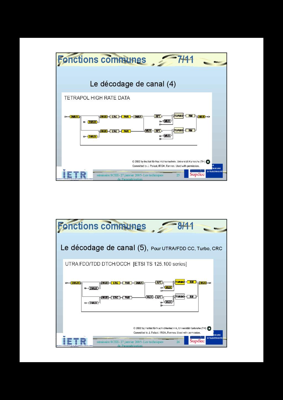 25 séminaire SCEE- 27 janvier 2005- Les techniq...