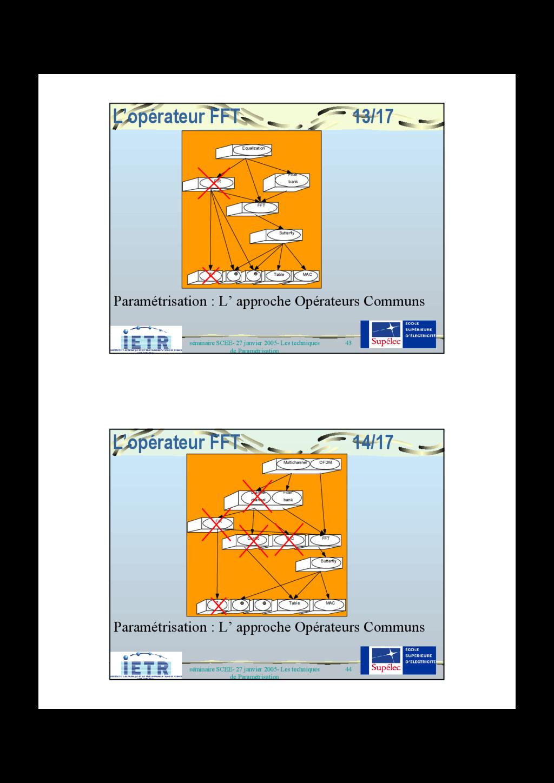 43 séminaire SCEE- 27 janvier 2005- Les techniq...