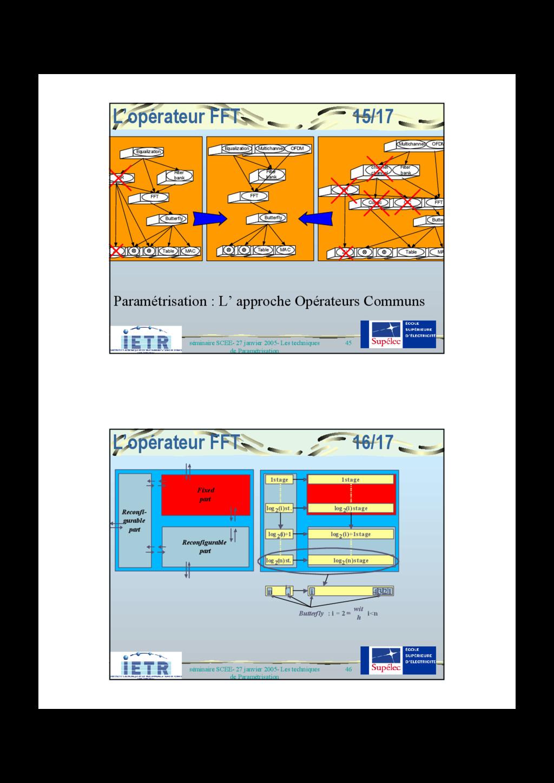45 séminaire SCEE- 27 janvier 2005- Les techniq...