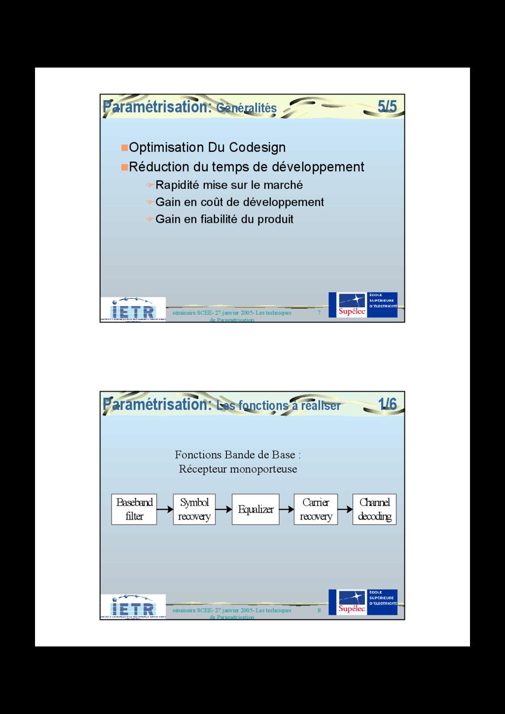 7 séminaire SCEE- 27 janvier 2005- Les techniqu...