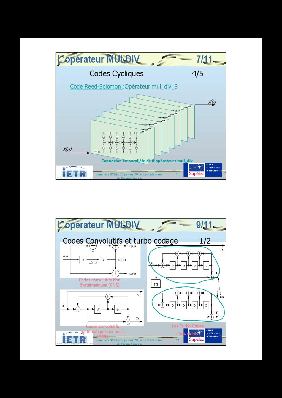 61 séminaire SCEE- 27 janvier 2005- Les techniq...