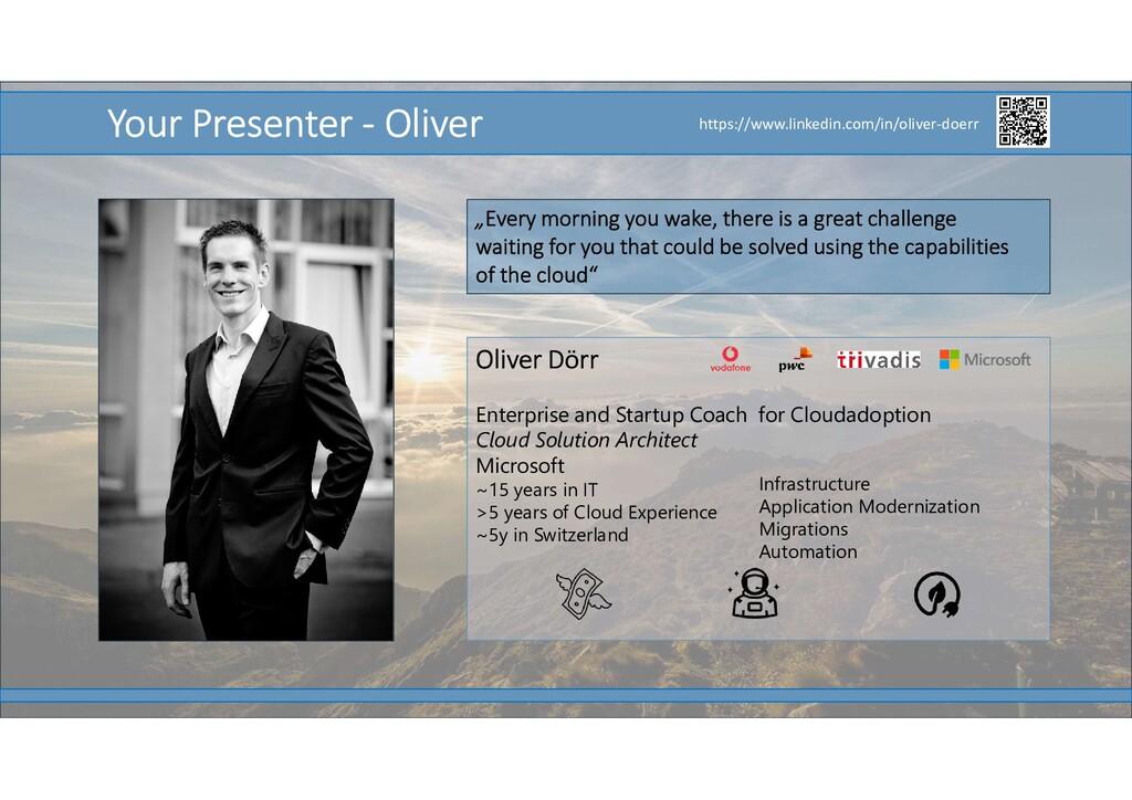 5 Oliver Dörr Enterprise and Startup Coach Clou...
