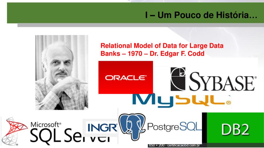 Relational Model of Data for Large Data Banks –...