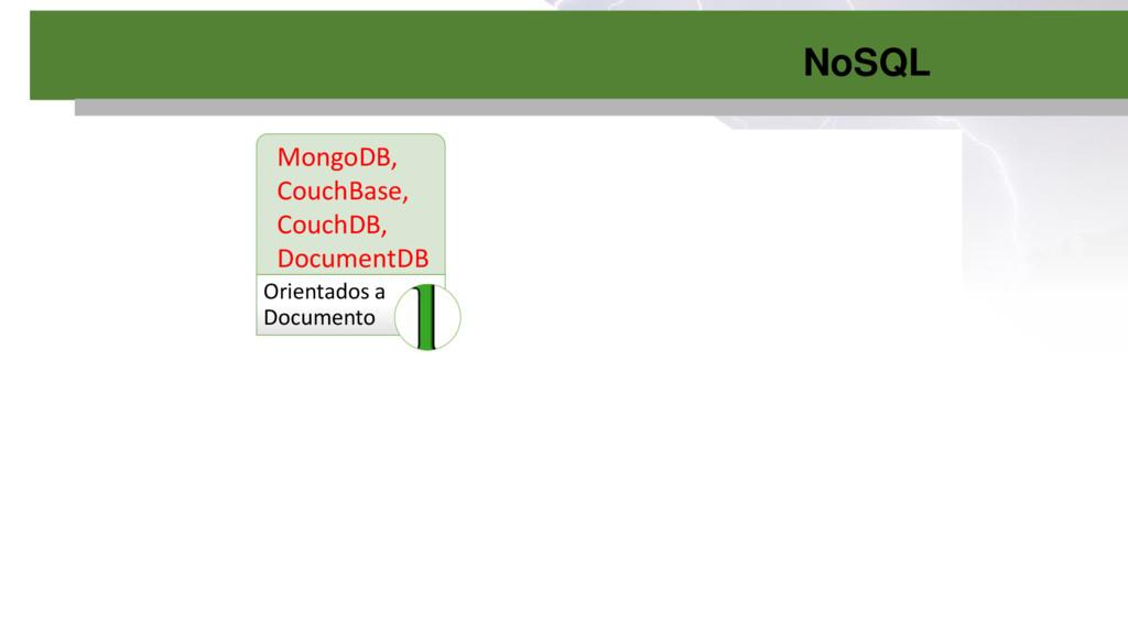 NoSQL Orientados a Documento Colunares Chave-va...