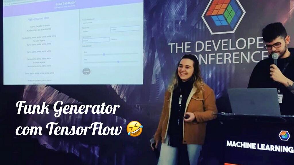 Funk Generator com TensorFlow