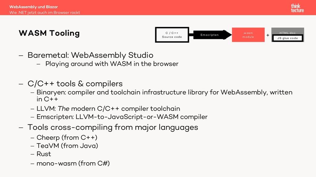- Baremetal: WebAssembly Studio - Playing aroun...