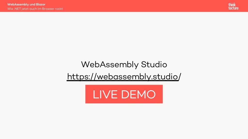 WebAssembly Studio https://webassembly.studio/ ...