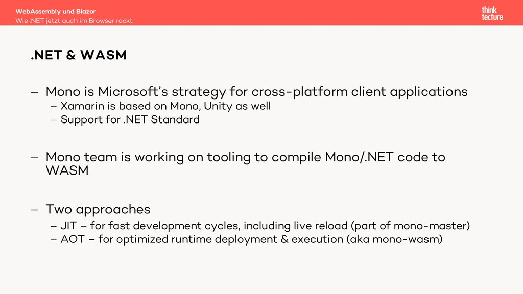 - Mono is Microsoft's strategy for cross-platfo...