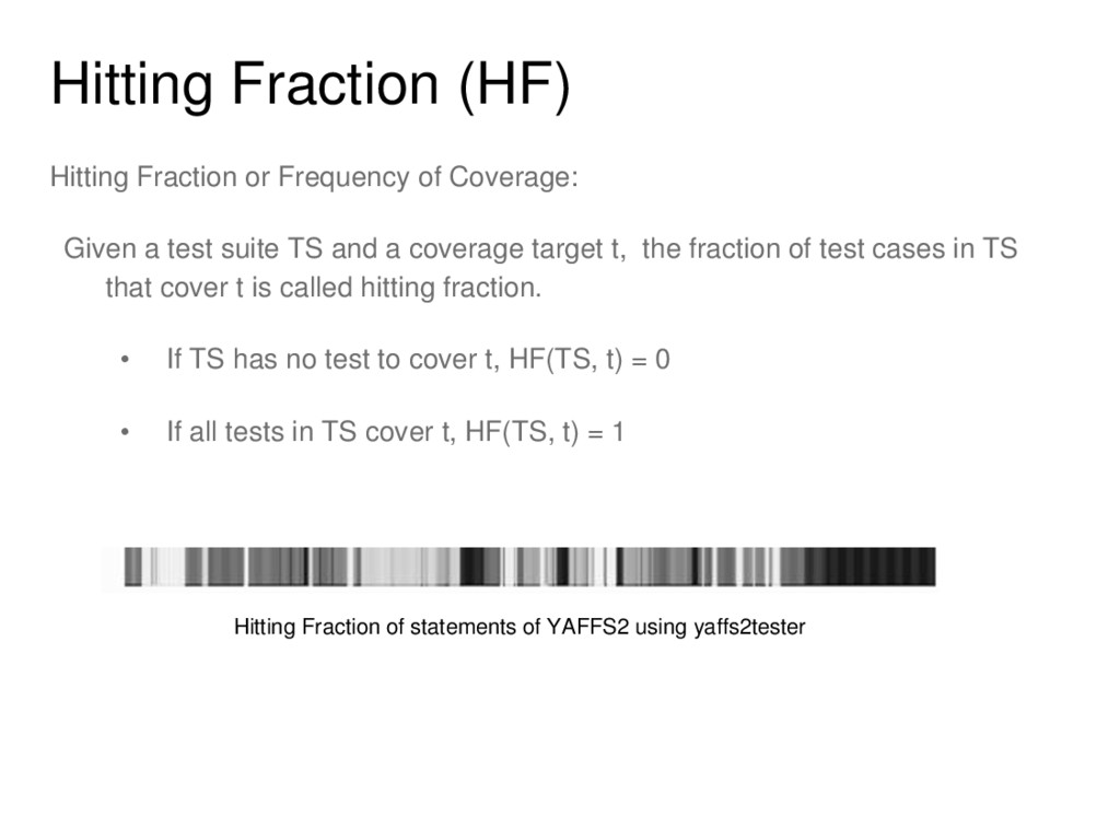 Hitting Fraction (HF) Hitting Fraction or Frequ...