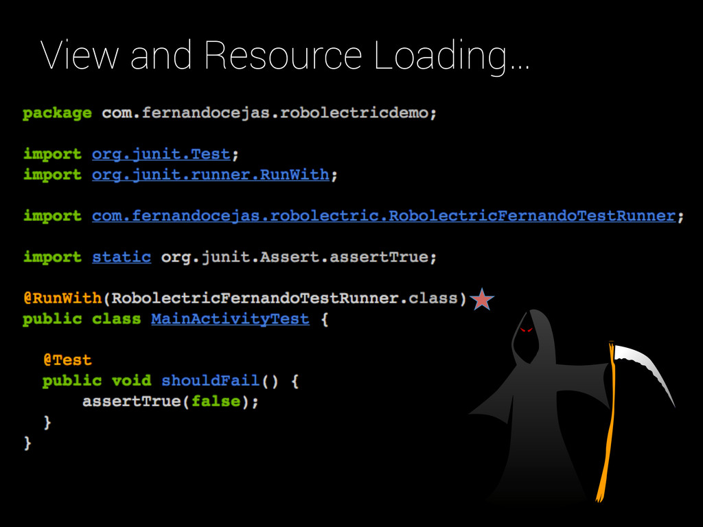 View and Resource Loading…